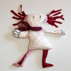 """dessine moi un doudou """"poupée de noélie"""""""