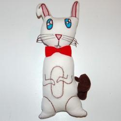 Doudou musical lapin dessine moi une doudou
