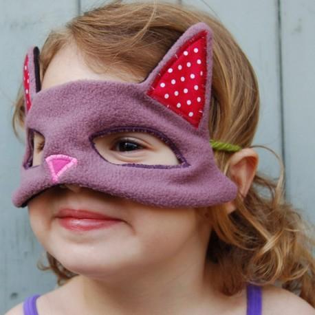 Masque de chat en tissus