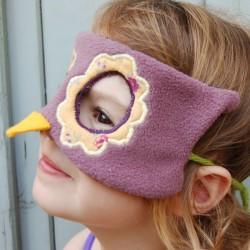 Masque de chouette en tissus