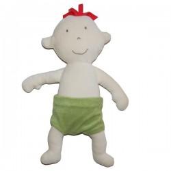 Bébé de chiffon Léon en coton biologique