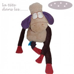 """Doudou musical """"Bouchon"""" le mouton"""