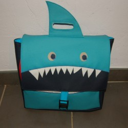 Cartable d'écolier REQUIN
