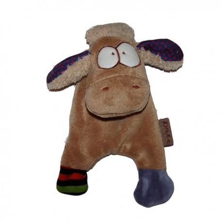 Doudou plat  BOUCHON le mouton
