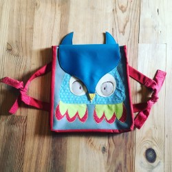 cartable sac à dos hibou