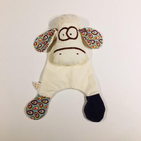 doudou mouton en coton biologique